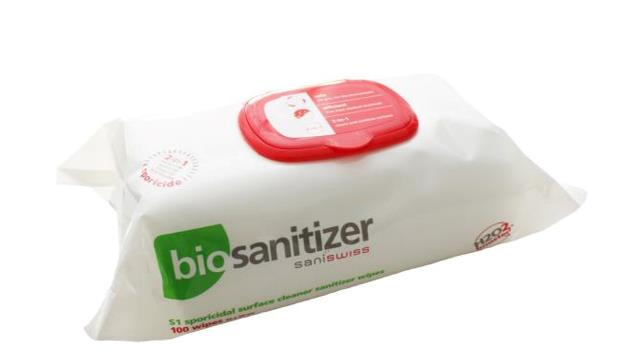 biosanitizer S1 Wipes